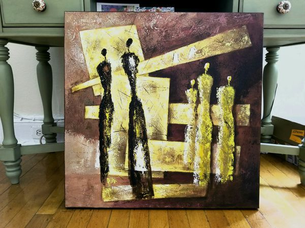 Abstract canvas wall art (Arts & Crafts) in New York, NY - OfferUp