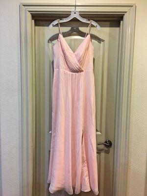 Bridesmaids Blush Dress (size 10)