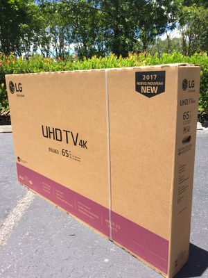 "LG 65"" Class 4K (2160P) Ultra HD Smart LED TV (65UJ6300):"