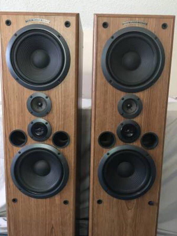 Pioneer CS-J821T 4 Way Floor Standing Speakers (Audio ...