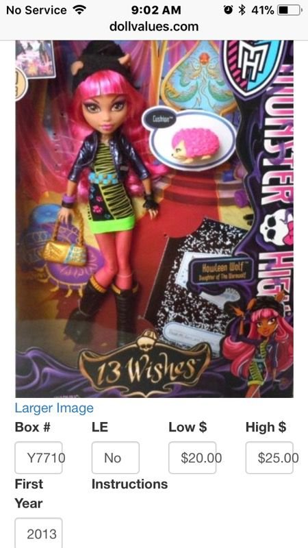 howleen wolf 13 wishes high toys in fort worth