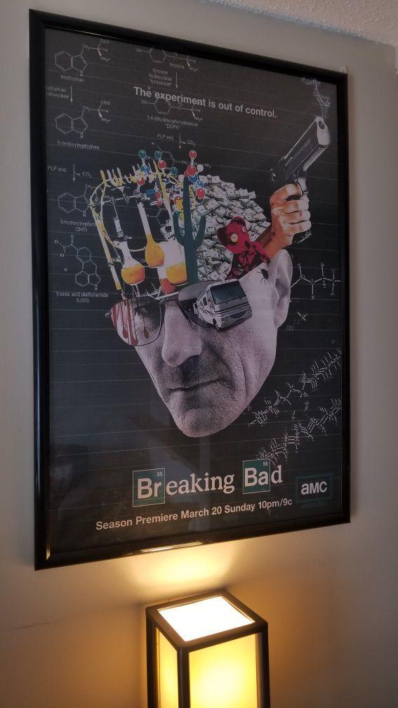 Wunderbar Breaking Bad Framed Picture Bilder - Benutzerdefinierte ...