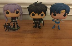 FUNKO pop figures/ Anime key chains / Sailor moon figure