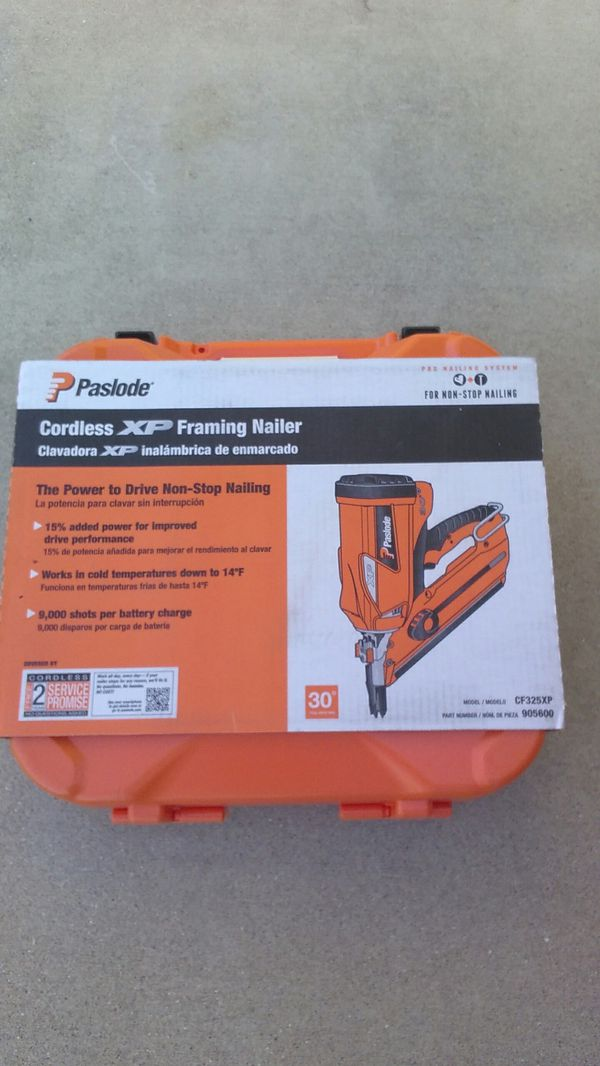 Paslode cordless XP framing nailer 30 degree (Tools & Machinery) in ...