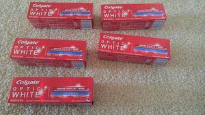 5 new Colgate optic white toothpaste