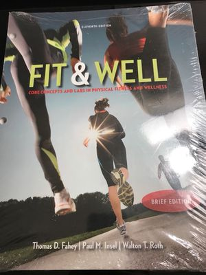Fit & Well unopened $75