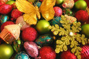 Christmas Tree + Ornaments