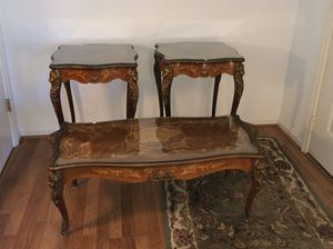Antique Coffee / End Table Set