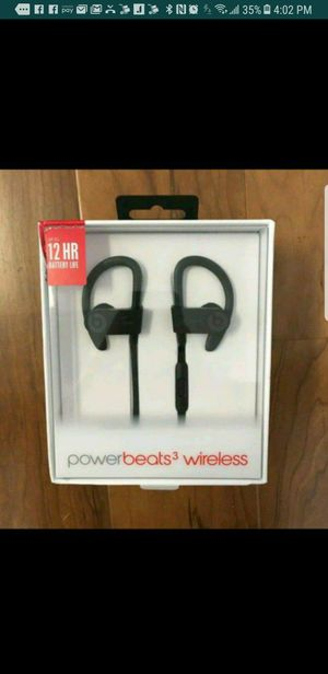 Powerbeats 3 Wirless Black Collection