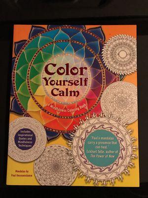 Color Yourself Calm Coring Book
