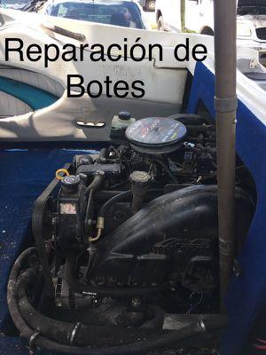 Servicio de reparación para botes
