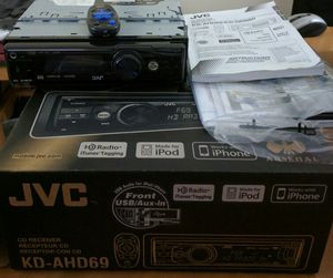 JVC KD-AHD69 Car MP3 CD & Radio player