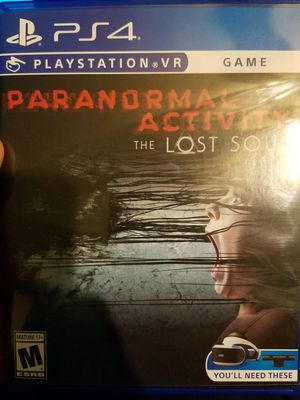 Paranormal activity PS4 PSVR