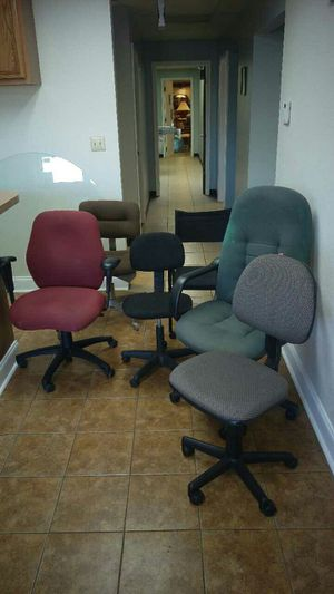 basic office chairs $20 or less-visit. RANDYIFEELUSED.com for info!