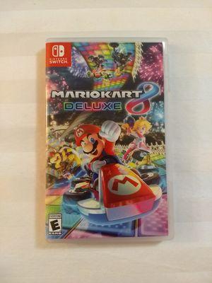Mariokart 8 Deluxe for Nintendo Switch