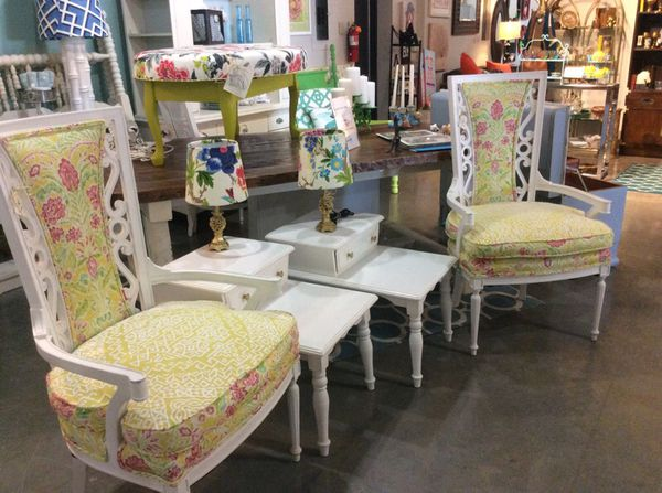 Lilly inspired accent chairs furniture in raleigh nc offerup