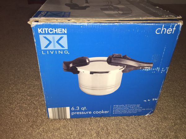 Pressure Cooker kitchen living Chef, High Quality 18/10 Stainless ...