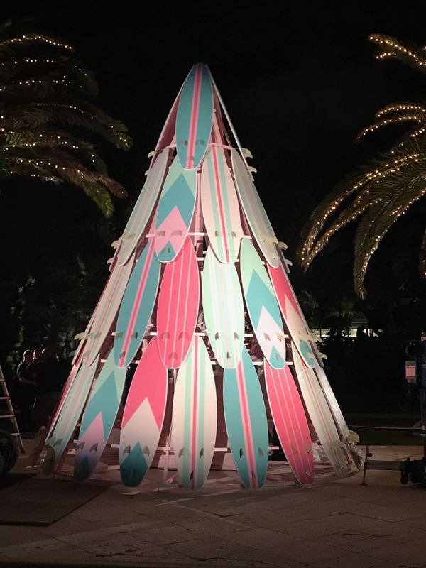 Cool Surfboard Christmas Tree Home Amp Garden In West Palm