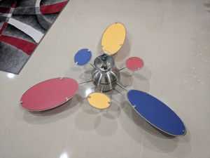 """Minka Aire 54"""" Cirque Ceiling Fan with Light"""