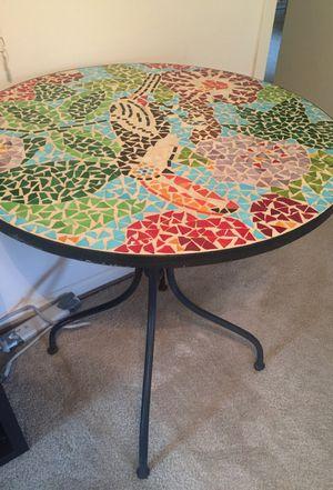 Beautiful Mosaic Patio Table