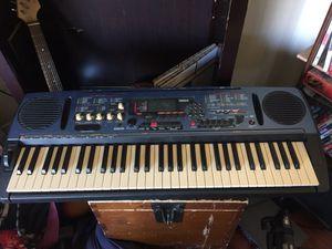 Yamaha DJX Sound Effects Synthesizer Keyboard DrumMachine