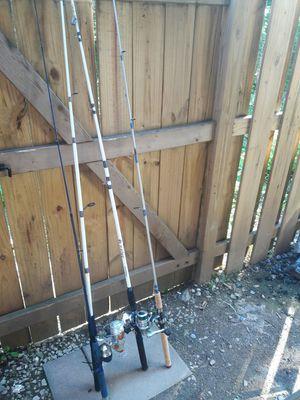 Baras de pesca en buenas condiciones etan conpleta