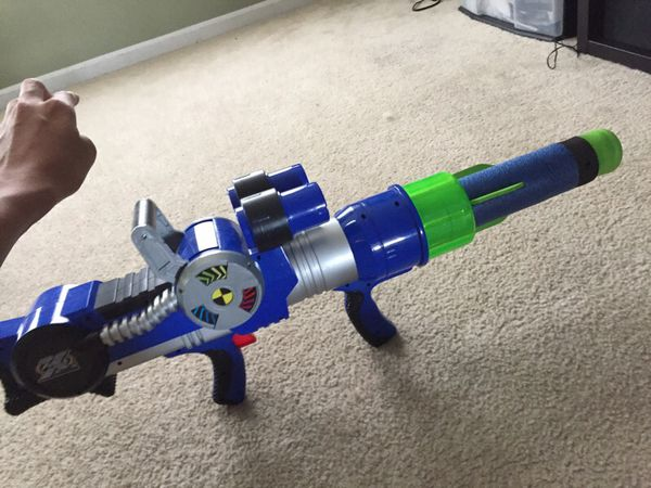 Spy gear nerf gun bazooka gun
