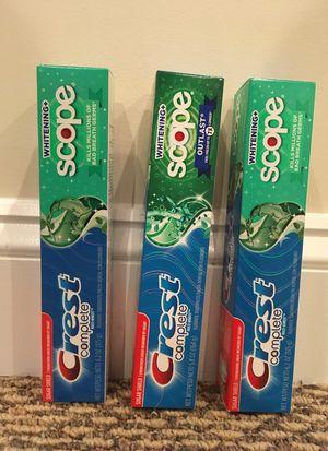 Crest Complete toothpaste