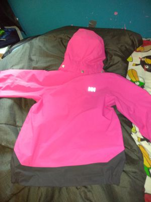 Pink Girls Helly Henson jacket Sz.6