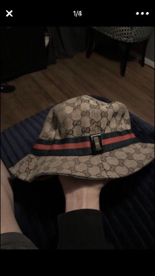 Gucci bucket hat (Clothing   Shoes) in West Sacramento bfede6c2e386