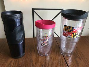 Travel mugs/ water bottles