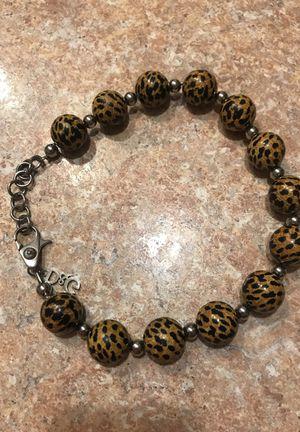 Dolce & Gabbana Jewels DJ0653 Women's Leopard Print Adjustable