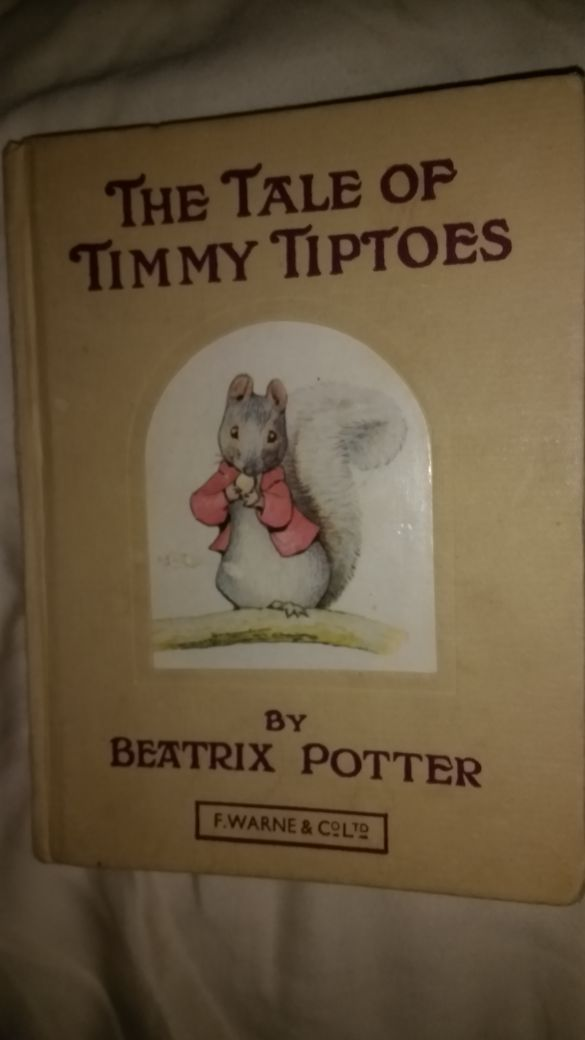 Beatrix Potter Book The Tale Of Timmy Tiptoes Books Magazines In