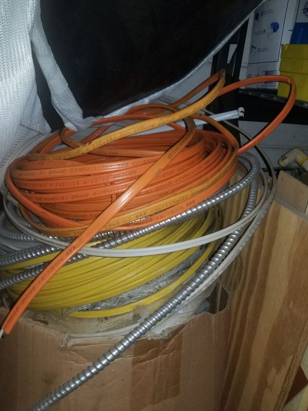 Great Orange Romex Wire Contemporary - Electrical and Wiring Diagram ...