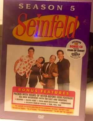 Seinfeld Volume 4 Season 5 Boxed collection DVD Set