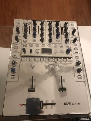 Rane 62 mixer with silver skin for sale!