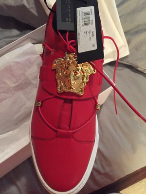 Brand new Versace sneakers with receipt and authentic card