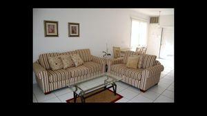 Sofa , love seat , TV 42 inch + TV stand