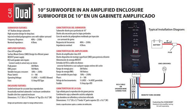 subwoofer dual