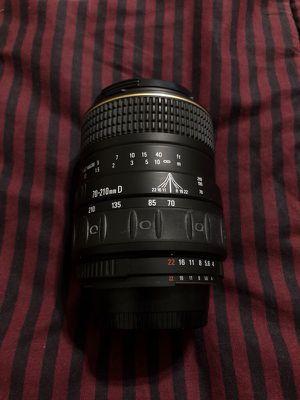 Quantaray 70-210 D AF Nikon Mount Lens
