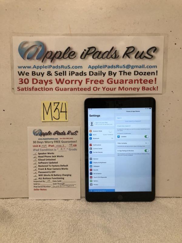 M34 - iPad mini 3 128GB