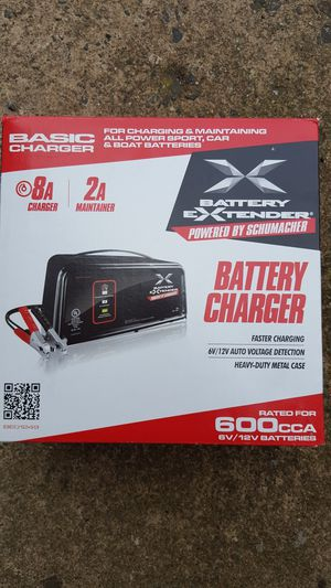 Battery charger and maintainer.
