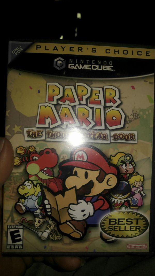 Paper Mario For GameCube