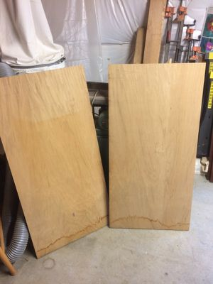 "3/4"" 2ft x 4ft Oak Plywood"