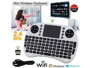 MINI WIRELESS KEYBOARD- TV - ANDROID - APPLE - MICROSOFT