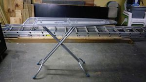 All aluminum ironing board