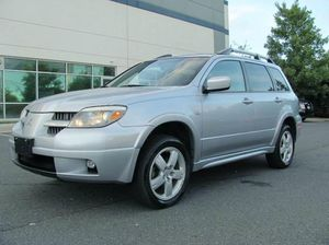 2005 Mitsubishi outlander limited awd
