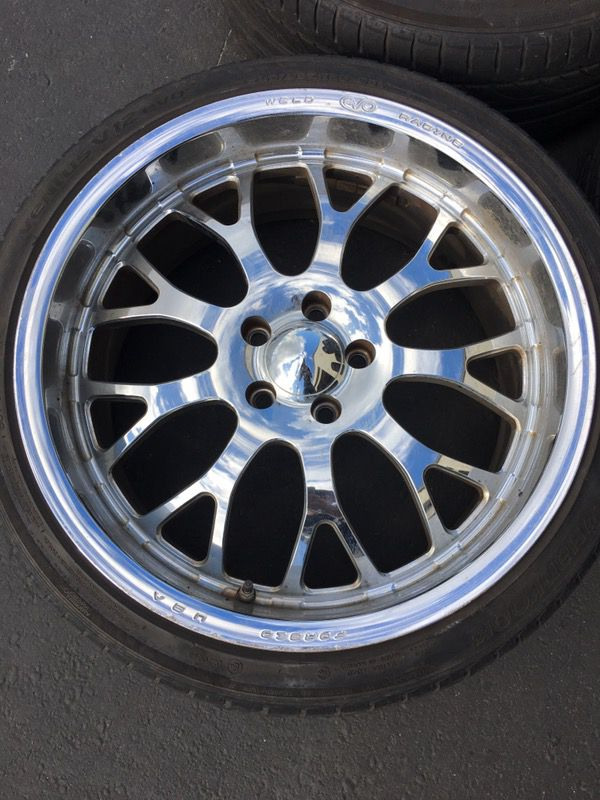 20 Weld Racing Evo BC 10 Forged Wheels And Tires 5x1143