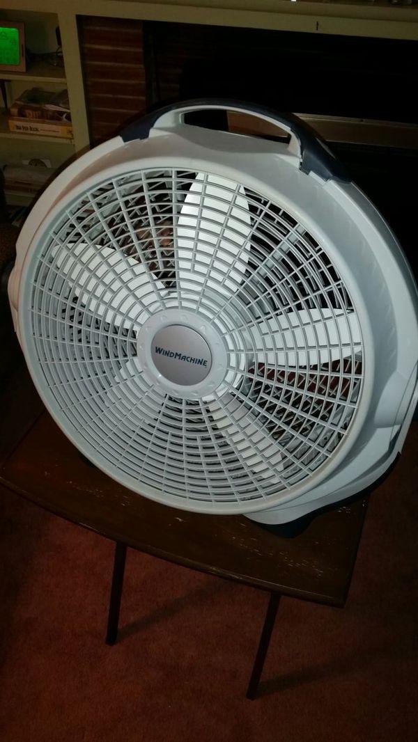 wind machine fans