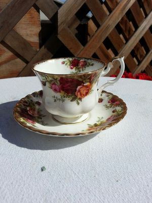 Royal Albert Old Country Rose Cup and Saucer Set